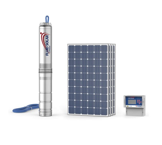 FLUID SOLAR 4? Submersible electric solar pump