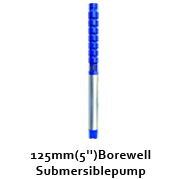 """125 mm (5"""") Bore well Submersible Pumps"""